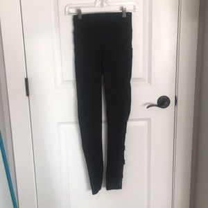 Pop Fit Black Leggings